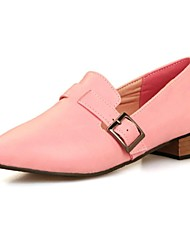 Women's Shoes Pointed Toe Low Heel Loafers Shoes More Colors available