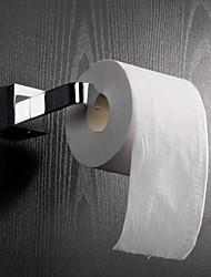 "YALI.M®,Soporte para Papel Higiénico Cromo Montura en Pared 4.8x 17.5x 9cm (1.88x6.88 x 3.5"") Latón Contemporáneo"