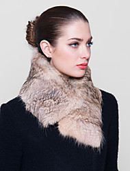 Fur Wraps Warm Special Occasion Hare Fur Wraps