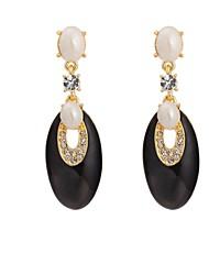 Woman's Fashion Jewelry  New Vintage Bohemia Black Drop Earring