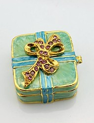Butterfly Square Trinket Box