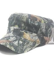 chapéu militar de camuflagem cor / chapéu apartamento de unisex