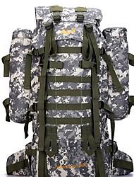 65 L Randonnée pack Sac à Dos de Randonnée Camping & Randonnée Voyage Extérieur Etanche Sac de cruche intégré Vestimentaire Camouflage