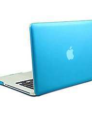 "Sench Frosted Matte Rubber Coated Hard Shell Clip Snap-On Case Skin Cover for Apple Macbook Pro 13"" - A1278"