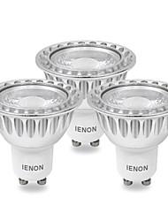 5W GU10 LED Spot Lampen MR16 COB 400-450 lm Kühles Weiß AC 100-240 V 3 Stück