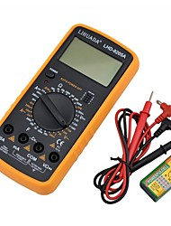 LIHUADA Digital Multimeter LHD-9205A with Probe, Low Energy Consumption, High Precision