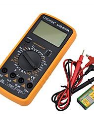 lihuada multímetro digital LHD-9205a com sonda, baixo consumo de energia, de alta precisão