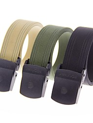 Outdoors Man Nylon with Fish Line Inside POM Buckle Hard Can Be Mounted Belts