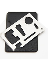 Outdoor Multifunction Knife Card Survival Tool