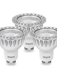 3 шт. IENON® GU10 5 W COB 400-450 LM Тёплый белый MR16 Точечный свет AC 100-240 V