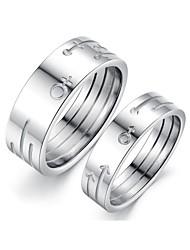 Couples' Titanium Ring Titanium