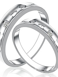 Gorgeous Fine Jewelry  925 Sterling Silver Rings (one pair)