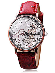Women's Fashion Vintage Roman Copper Shell Map Watches(Assorted Colors) Cool Watches Unique Watches