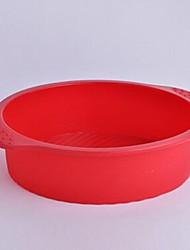 Kreisform Kuchenformen, Silikon 26,5 x 22 x 6 cm (10,4 × 8,7 × 2,4 Zoll)