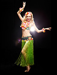 Belly Dance Women's Spandex Outfits Including Headbands&Garland&Bracelets&Bra&Skirts (More Color)