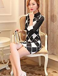 femmes cultivent sa moralité robe à manches longues