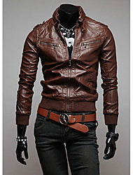 Playgame Men's Casual Stand Collar Jacket