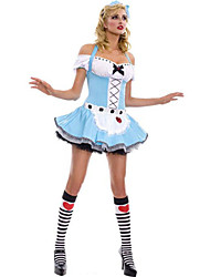 Мэрилин Монро Стиль Алиса в стране чудес женского Хеллоуин костюм