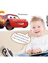 stickers muraux stickers muraux, voiture de style McQueen pvc stickers muraux