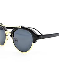 Anti-Fog Browline PC Retro Sunglasses