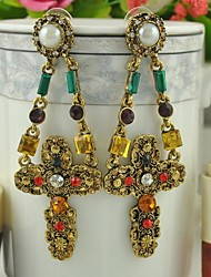 Pendientes Hot Italian Design Vintage Earrings for Women 2015 Brincos