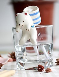 NEJE Self Watering Animal Plant Planters - Polar Bear with Cup