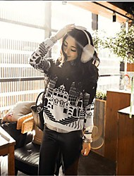 Women's Ink Painting Sweater