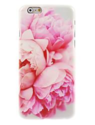 Pour Coque iPhone 7 Coques iPhone 7 Plus Coque iPhone 6 Coques iPhone 6 Plus Motif Coque Coque Arrière Coque Fleur Dur Polycarbonate pour