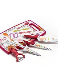 "Plastic Cutting Board And Kitchen Gadgets Set  plastic +Ceramic  13.7""*9.8""*0.5"""