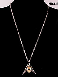 manquer Rose® harry potter vif d'or collier pendentif