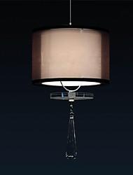 Cloth Lamps Minimalist  Crystal Pendant Lights