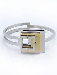 SPHERE Fashion Modern Stainless Steel Can Be Open Cuff BraceletsII