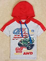 kinderen t-shirt zomer jongens kleding kids shirts jongens korte topjes gedrukte cartoon auto jongens tees