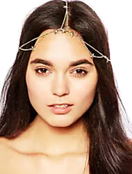 Shixin® Fashion (Star) Alloy Headband For Women (Golden) (1 Pc)