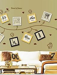 adesivi da parete decalcomanie, fiore Photo vite adesivi murali autoadesivo del PVC