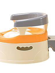 Kids Potty Chair,Taditional Plastic Orange Gey
