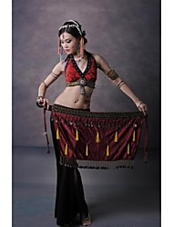 Belly Dance Stage Tribal Style Tassel Copper Coins Waist Chain/Shawls(More Colors)