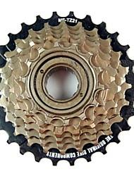 oeste biking® ciclismo 7 velocidades cassetes de bicicleta de roda livre 14-28 dente bicicleta freio cassete roda livre