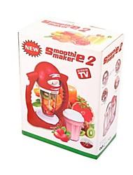 machine à smoothies, plastique + inox 32 x 25 x 14 cm (12,6 × 9,9 × 5,6 pouces)