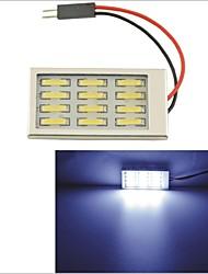 Carking™ T10 / Festoon 7014-12SMD Car LED Rome Lamp White Light (12V/Piece)