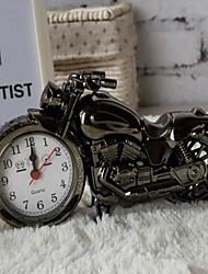 la mode décor de bureau à domicile Voyage de modèle de moto alarme horloge de bureau