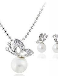Women's Personality Elegant Diamante Jewelry Sets