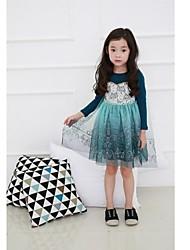 robe de princesse robe de bébé filles de fille robe à manches longues