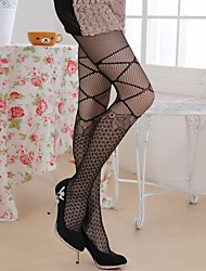 Hosiery Party/Casual Matching Leisure Bowknot Pantyhose