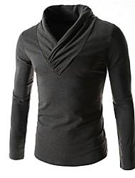 casual mode met lange mouwen t-shirts voor mannen (meer kleuren)