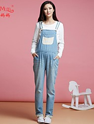 Maternity Casual Jeans Pants , Denim Inelastic