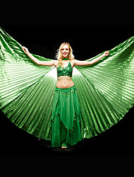 Dance Accessories Stage Props Women's Training Polyester Green / Red / Royal Blue / Yellow Belly Dance / PerformanceSpring, Fall, Winter,
