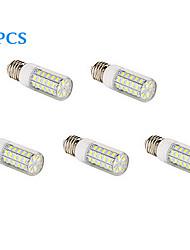 Ampoule Maïs Blanc Chaud / Blanc Froid 5 pièces T E26/E27 10 W 48 SMD 5730 1000 LM AC 100-240 V