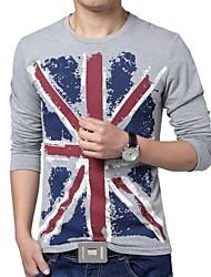 nouveau t-shirt Union Jack imprimé des hommes