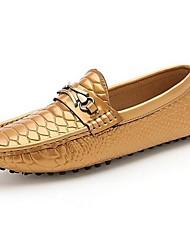 sapatos masculinos confortar sapatos de couro calcanhar Flat Shoes mais cores disponíveis